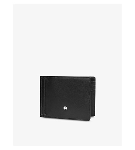 MONTBLANC Meisterstück soft-grain leather card wallet (Black