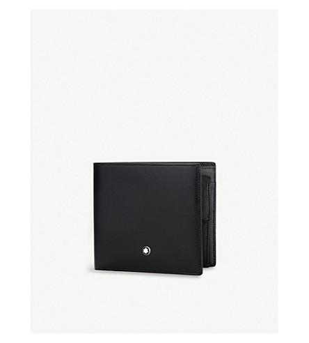 MONTBLANC Meisterstück 皮革4cc 钱包 (黑色