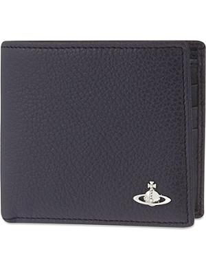 VIVIENNE WESTWOOD Leather billfold wallet