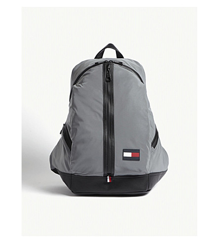 TOMMY HILFIGER Speed logo-detail shell backpack (Reflective