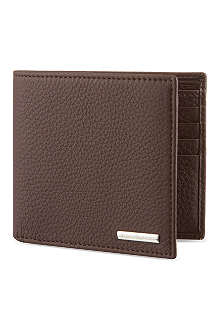 ZEGNA Brown leather wallet