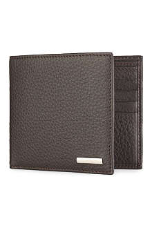 ZEGNA Hamptons grained leather billfold wallet