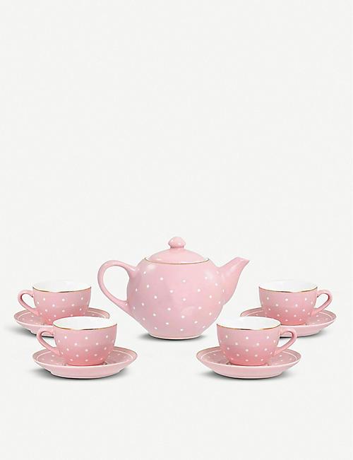 FAO SCHWARZ Ceramic tea set 10-pieces