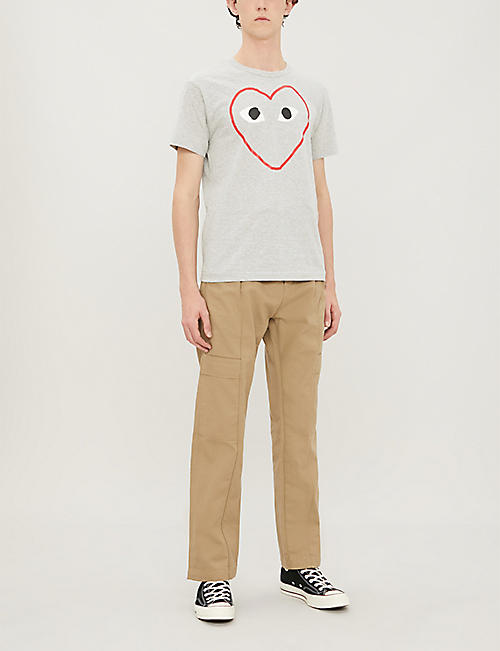 COMME DES GARCONS PLAY CDG EMPTY HEART TEE