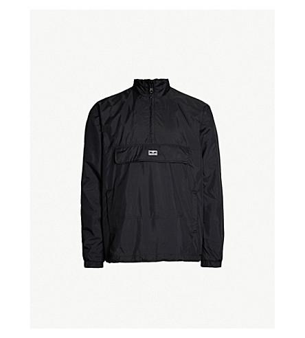 OBEY Runaround Eyes mesh-lined shell jacket (Black