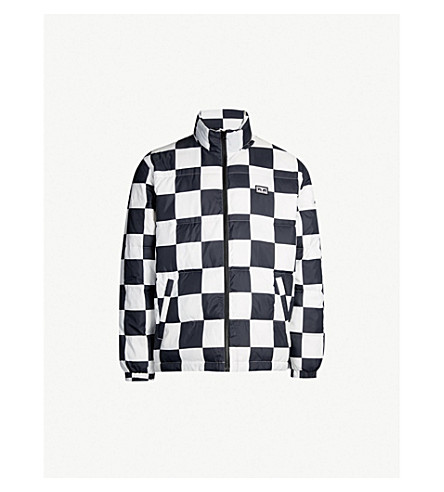 OBEY Checkerboard padded shell jacket (Checker