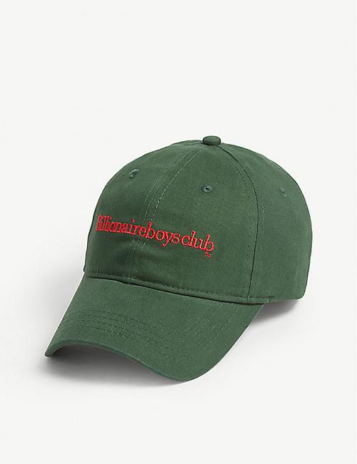 BILLIONAIRE BOYS CLUB Logo cotton baseball cap 653a4d6b3b6c