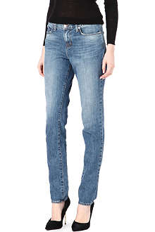 J BRAND Relaxed straight-leg high-rise jeans