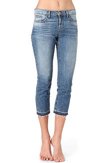 J BRAND 1216 Aiden boyfriend cropped low-rise jeans