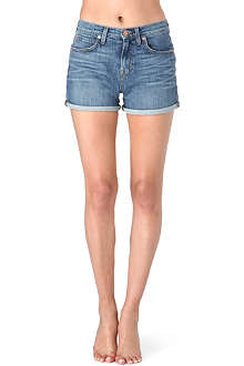J BRAND 1280 high-rise denim shorts