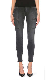 J BRAND 1348 Kassidy utility super-skinny mid-rise jeans