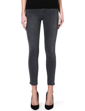 J BRAND Bree slim-fit mid-rise cropped jeans