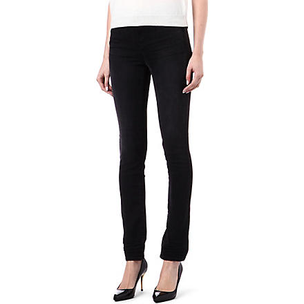 J BRAND 2112 Photo Ready slim-straight high-rise jeans (Graphite