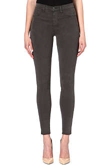 J BRAND 23110 Maria sateen skinny high-rise jeans