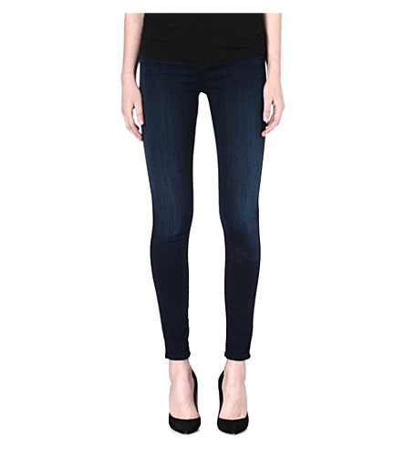 J BRAND Maria skinny high-rise jeans (Darkness