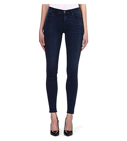 J BRAND Maria skinny high-rise jeans (Surrender