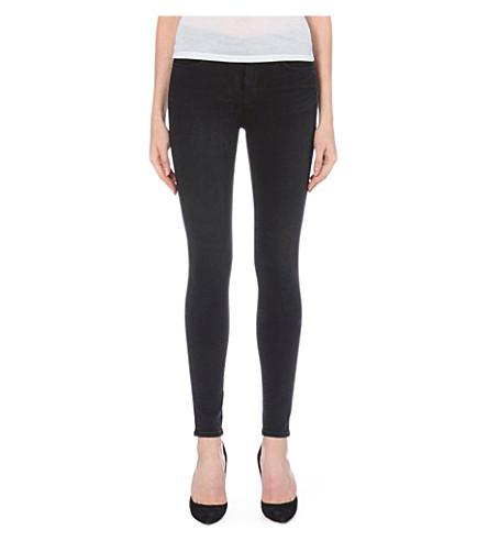 J BRAND Maria high-rise jeans (Graphite