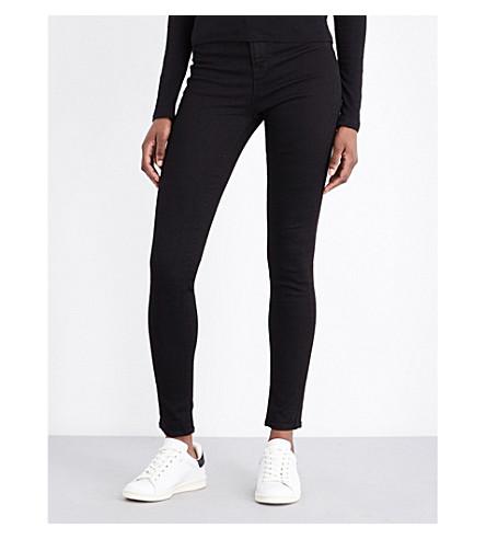 J BRAND Maria skinny high-rise jeans (Vanity