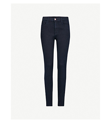 J BRAND Maria skinny high-rise jeans (Bluebird