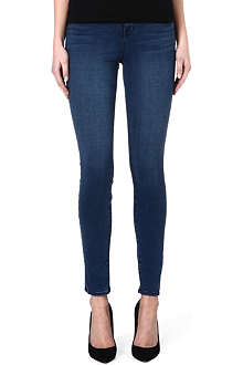 J BRAND Malta sateen slim-fit high-rise jeans
