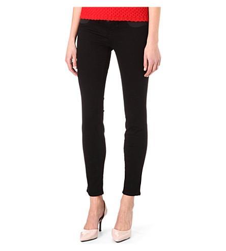 J BRAND Mama j maternity skinny low-rise jeans (Hewson