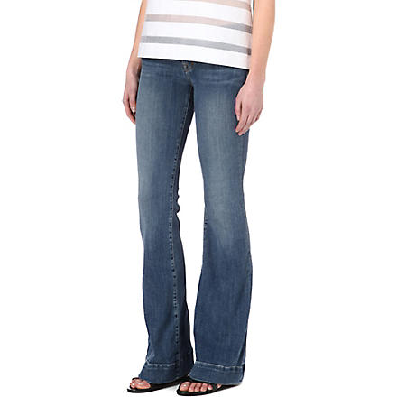 J BRAND Love Story flared mid-rise jeans (Cosmic