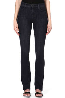 J BRAND Remy slim-fit bootcut high-rise jeans