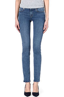 J BRAND 8112 Rail skinny mid-rise jeans