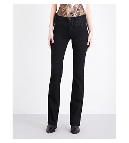 J BRAND Betty bootcut mid-rise jeans (Vanity