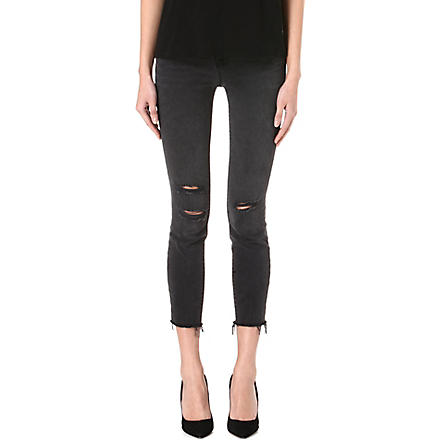 J BRAND 822 cropped skinny mid-rise jeans (Mercy