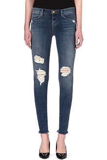 J BRAND 8226 Photo Ready distressed skinny mid-rise jeans