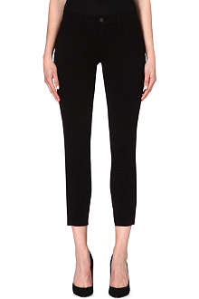 J BRAND Mid-rise ankle zip jeans