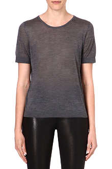 J BRAND FASHION Nicole silk-blend t-shirt