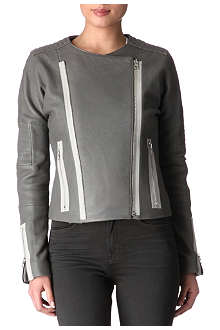 J BRAND Marie quilted leather jacket