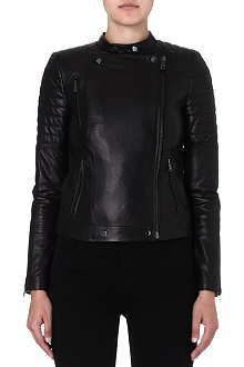 J BRAND FASHION Crista leather jacket