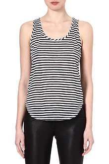 J BRAND FASHION Bell striped jersey vest