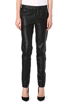 J BRAND FASHION Masako leather trousers