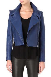 J BRAND FASHION Connix leather biker jacket