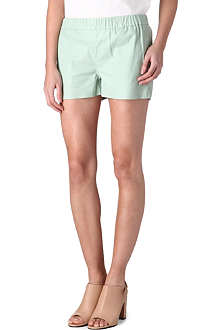 J BRAND FASHION Lynn leather shorts