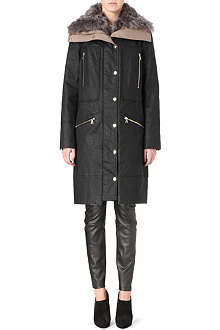 J BRAND FASHION Alvarez shearling coat
