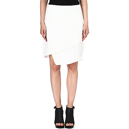 J BRAND FASHION Maryse crepe skirt (Linen / white