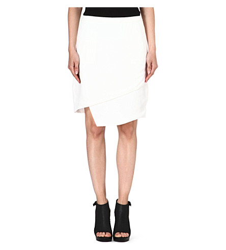 J BRAND FASHION Maryse crepe skirt (Linen / white