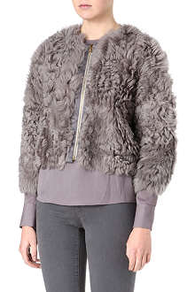 J BRAND FASHION Kelsey reversible shearling jacket