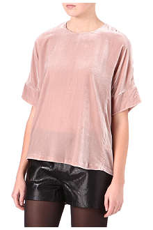 J BRAND FASHION Daisy velvet top