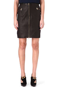J BRAND FASHION Maxine leather skirt