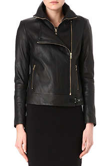 J BRAND FASHION Karle leather biker jacket