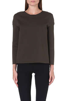 J BRAND FASHION Long-sleeved neoprene top