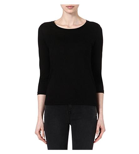 J BRAND FASHION Sophie jersey t-shirt (Black