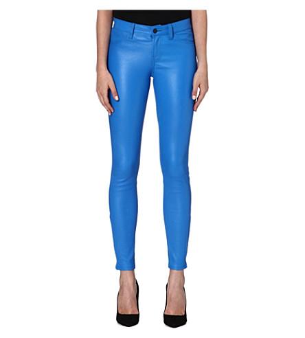 J BRAND L8001 leather super-skinny trousers (Breakwater