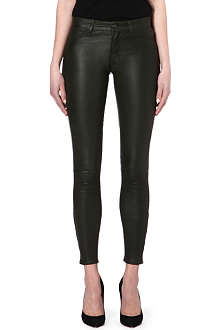 J BRAND L8001 Leather super skinny trousers